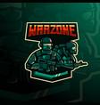 warzone logo vector image
