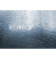 Wet window gradient mesh vector image vector image