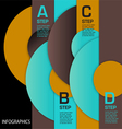 infographic Circles ABCD