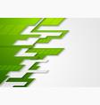 abstract green grey tech corporate vector image vector image