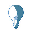 bulb light creative idea thinking icon symbol vector image vector image