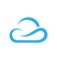 Cloud logo template icon vector image