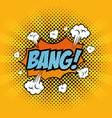 comic pop art sign vector image