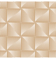 Futuristic square gold seamless pattern geometric