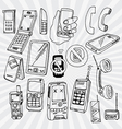 Mobile Phones and Other Devices vector image vector image