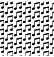music note icon pattern background vector image