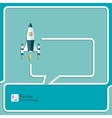 Start Up New Project Speech Bubbles and Chat vector image vector image