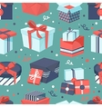 Gift box icons set vector image