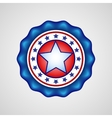American Independence Day Holiday badge vector image vector image