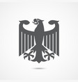 eagle coat of arms of germany vector image