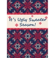 Ugly Sweater Party vector image vector image