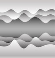 background with paper waves for web sites vector image vector image