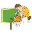 basketball master vector image