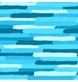 Blue Painted Brush Strokes Pattern vector image vector image