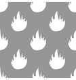 Fire seamless pattern vector image vector image