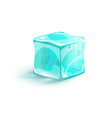 ice cube icon vector image