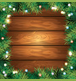 merry christmas holiday event card vector image