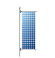 solar panel construction vector image