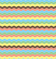 Colorful cloud patternJapan wave style pattern vector image
