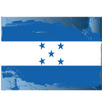 Honduras national flag vector image