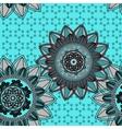 Mandala ornament seamless pattern