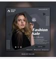 modern elegant social media instagram template vector image vector image