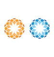 ornamental-logo vector image vector image