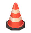 repair traffic cone icon isometric style vector image vector image