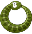 snake ring vector image