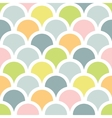 Abstract colorful fishscale seamless pattern vector image vector image