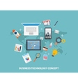 Business Strategy Concepts vector image vector image