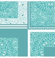 High quality original geometric pattern for fabric vector image vector image