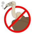 No smoking zone vector image vector image