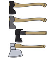 Old axes vector image vector image