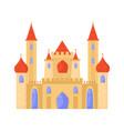 oriental castle arabic baroque style elegant vector image vector image