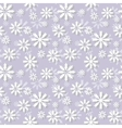 Snowlakes pattern vector image vector image