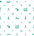 tools icons pattern seamless white background vector image vector image