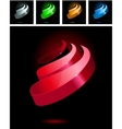 abstract symbols vector image vector image