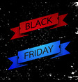 black friday sale promotion banner vector image