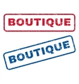 Boutique Rubber Stamps vector image vector image