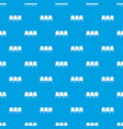 chairs in the departure hall pattern seamless blue vector image vector image