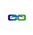 CQ logo vector image vector image