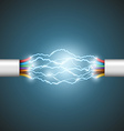 Electrical circuit Stock vector image vector image