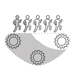 people and teamwork design vector image