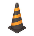 road cone icon isometric style vector image vector image