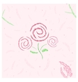 Roses and tulip seamless vector image vector image