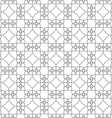 Seamless pattern of delicate lines on white vector image vector image