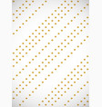 vertical card seamless pattern with gold cartoon vector image vector image
