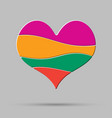 Color heart element romance valentine day concept