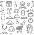 fashion sale background vector image vector image